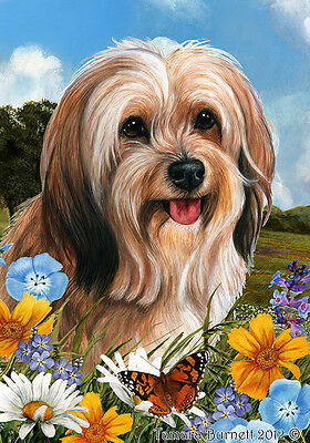 Garden Indoor/Outdoor Summer Flag - Sable Tibetan Terrier 184801