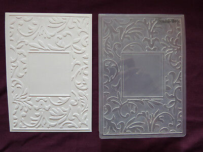 Crafts-Too/CTFD3047/C6/Floral Frame/Embossing /Folder