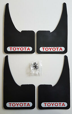 Sportflaps Mudflaps TOYOTA Full set of 4 Car MUDGAURDS