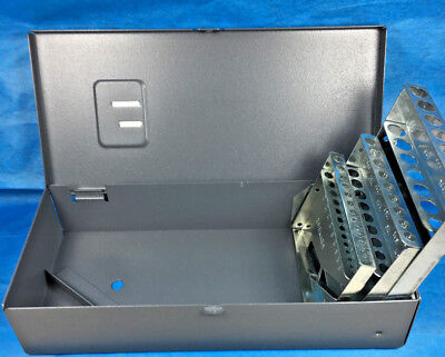 29 PC Huot Brand 1/16 to 1/2 by 64ths Chucking Reamer Index Case Model 129