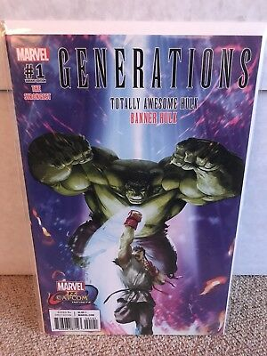 Generations Hulk #1 - Marvel Vs Capcom Variant - RARE - Marvel - NM