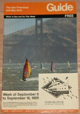 September 8-16 1989 The San Francisco And Bay Area Guide Maps Entertainment