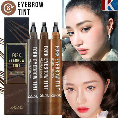 Fork Tattoo Eyebrow Lasts up to 8 days! Long Lasting Waterproof Tatoo Eyebrow