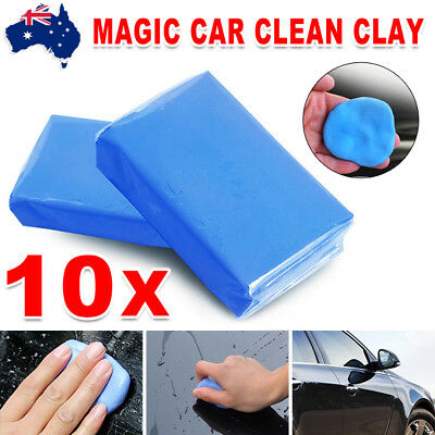 10Pcs Magic Car Clean Clay Truck Auto Vehicle Bar Cleaning Soap Detailing Wash
