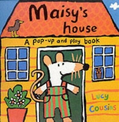 Maisy's House: A Pop-up and Play Book by Cousins, Lucy Hardback Book The Cheap