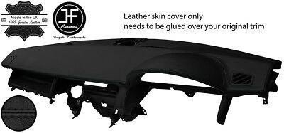 Black Stitch Top Dash Dashboard Leather Cover Fits Range Rover Sport 2005-2009