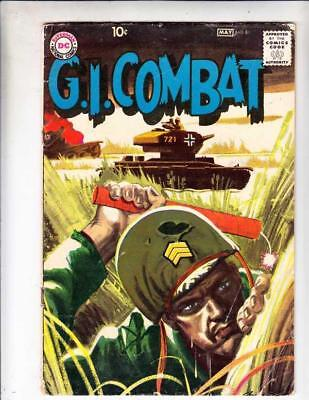 G.I. Combat  # 81  strict  GD Cover Grey Tone