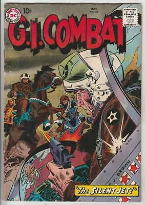 G.I. Combat  # 64  strict  FN content  Jet Pilot Story by Kubert!