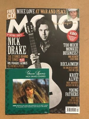 MOJO Music Magazine MARCH 2018 With Free NICK DRAKE COVERED CD