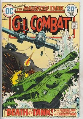 G.I. Combat  # 169  strict  VF/NM  appearance  Haunted Tank