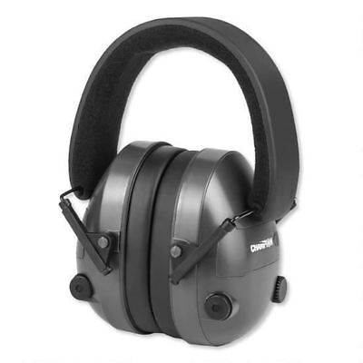 New Champion Electronic Ear Muffs Hearing Protection NRR 25dB 40974