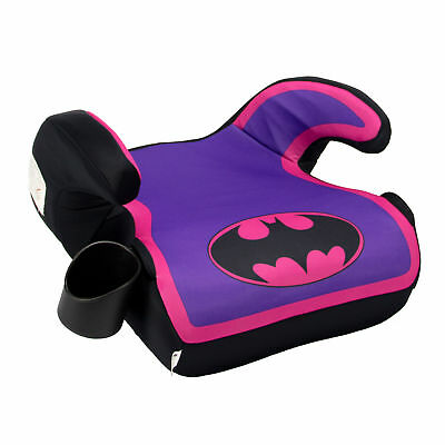 Kids Embrace DC Comics Batgirl Childrens 40-100 Pounds Backless Booster Car Seat