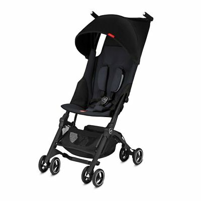 Goodbaby GB Pockit Plus Compact Stroller in Satin Black NEW Free Shipping!!