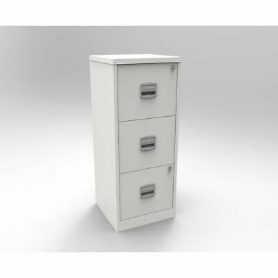 Bisley A4 3 Drawer Metal Filing Cabinet