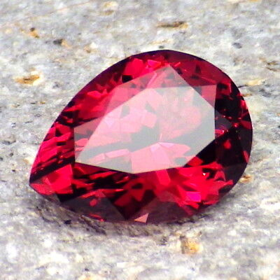 PYRALSPITE GARNET-E.AFRICA 2.95Ct FLAWLESS-HOT PINK+ROSE PINK CLR-FOR JEWELRY!