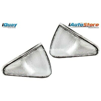 Ford Falcon '82-'84 XE Clear Corner Indicator Lights Pair NEW