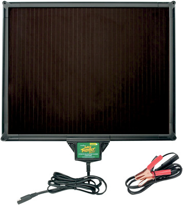 Battery Tender Black 5 watt Universal Motorcycle Solar Panel Charger for Harley