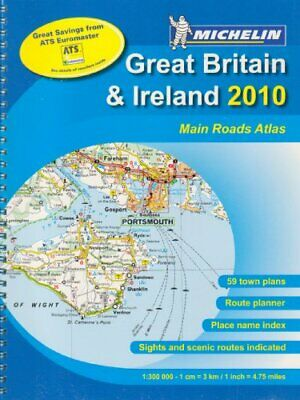 Main road atlas GB&Ireland - A4 spiral (Michelin Tou... by Michelin Spiral bound