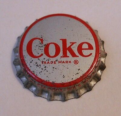 "Vintage Coca Cola ""Trade Mark B""..cork..unused..Soda Bottle Cap"
