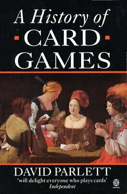 The History of Card Games by Parlett, David Paperback Book The Cheap Fast Free