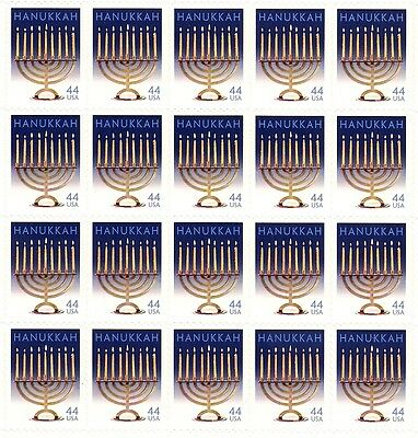 2009 - HANUKKAH - #4433 Full Mint -MNH- Sheet of 20 Postage Stamps