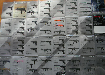 ۞ ~ Waffen Typen ~ GLOCK ~ HK ~ Walther  Poster 84x60 cm ۞