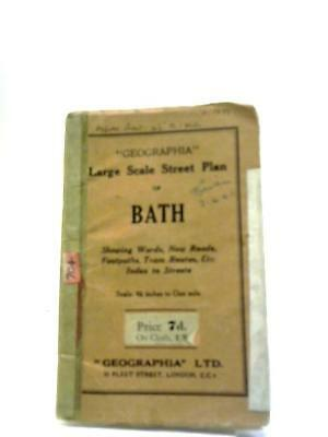 Large Scale Street Plan of Bath  Book (Various - ) (ID:88549)