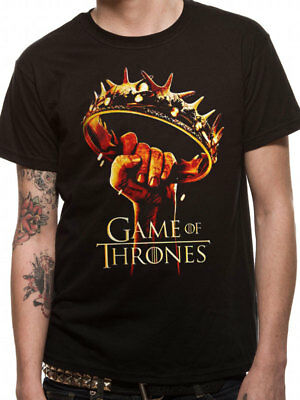 Official Game Of Thrones - Crown Logo - T Shirt NEW Season 2 Poster small & XL