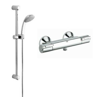 Grohe shower mixer bar grohtherm g800 ev thermostatic for Grohe grohtherm 1000 c