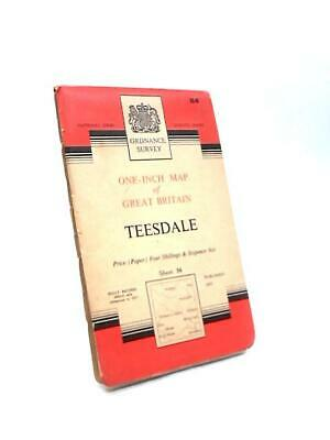Teesdale Sheet 84 One-Inch Map of Great Britain Seventh Book (Anon) (ID:54964)