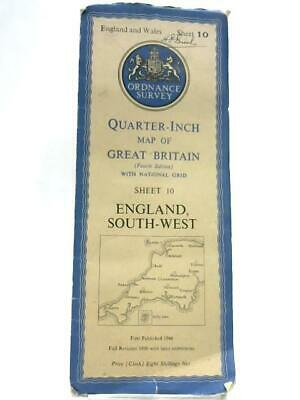 Ordnance Survey Quarter-Inch Map of Great Britain: South West Book (ID:92229)