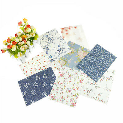 12pcs Chinese Style Pastoral Elegant Small Floral Envelope For Gift Party Invite
