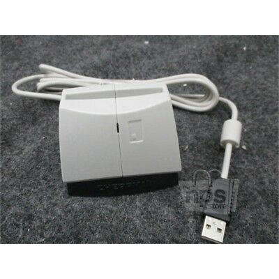 Cherry Smart Card Reader with USB, Light Gray and Black, ST-1044UB