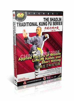 Shao Lin Kungfu Applied Tactics Linking Hands and Short Hitting by Shi Dejun DVD