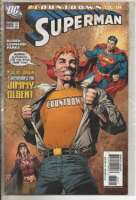 DC Comics Superman #665 September 2007 A Countdown Tie-In
