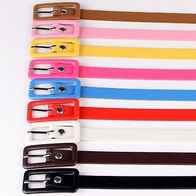ladies Belt Vintage fashion Womens New Skinny waistbelt Candy Color Thin Buckle