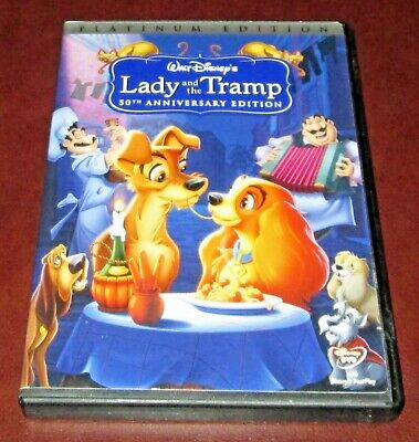 Disney's LADY and THE TRAMP, Special PLATINUM Edition (2006) DVD  2-Disc Set PE