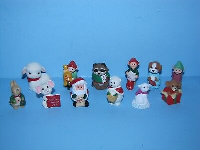 Hallmark Merry Miniature Lot of 12 Various Miniatures  (Lot 9)
