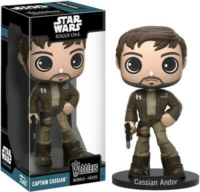 FUNKO WOBBLER: Star Wars - Rogue One - Captain Cassian Andor [New Toys] Vinyl