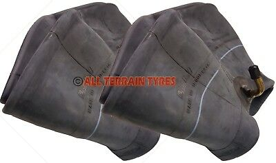 TWO 13x5.00-6 INNER TUBE TR87 Bent Metal Valve For Lawn Mower Turf Tyre 13 500 6
