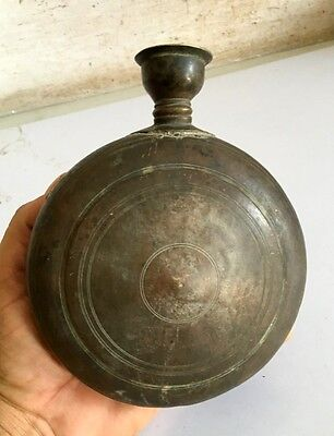 1800's Antique Brass Household Used Beautiful Shape Oil Pot