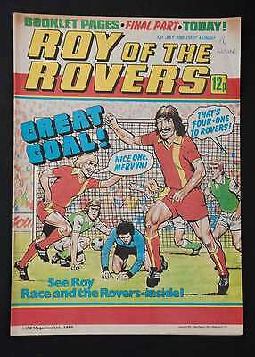 ROY OF THE ROVERS - 12th July 1980 - Vintage / Retro Football Comic
