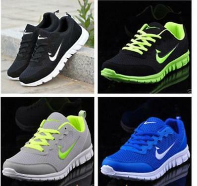 Mens And Boys Sports Trainers Running Gym Sizes Us5.5-13 Fashion Shoes
