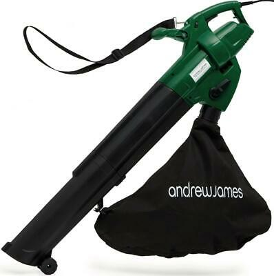Andrew james Leaf Blower and Vacuum Lightweight Electric Garden Mulcher