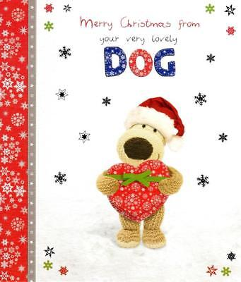 Boofle Happy Christmas From The Dog Greeting Card Special Xmas Cards