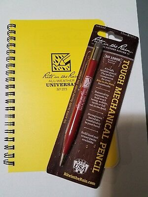 Rite in the Rain Lot - 373 All-Weather Universal Notebook and Pencil