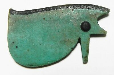 ZURQIEH -as3293- ANCIENT EGYPT , STUNNING COLOUR. LARGE EYE OF HORUS AMULET