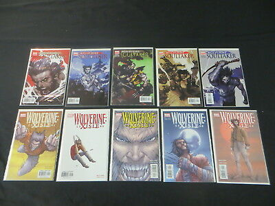Wolverine Soultaker #1-5 Wolverine Xisle #1-5 10 Issue Lot Complete Sets