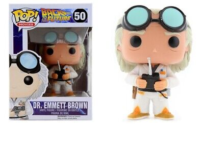 Funko Pop Movies: Back to the Future - Dr. Emmett Brown Vinyl Figure #3399