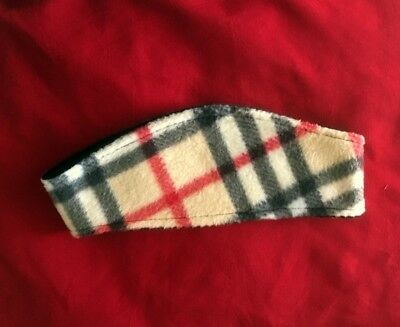 Burberry*Ear Warmer*Headband*Fleece*Black*Med/Lrg